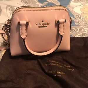 NWT Kate Spade Mini Maise Rosy Dawn Pink Bag